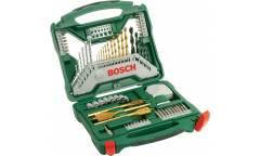 Набор принадлежностей Bosch X-Line-70 70 предметов (жесткий кейс)