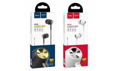 Наушники Hoco M70 Graceful universal внутриканальные c микрофоном (черные)