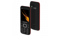Мобильный телефон Maxvi X800 black-red