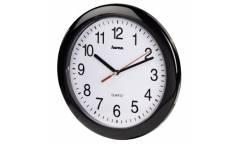 Часы настенные аналоговые Hama PP-250 H-113920 черный