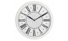 Часы настенные аналоговые Бюрократ WallC-R26P белый