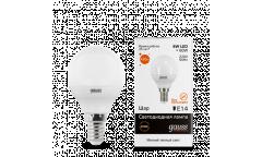Лампа светодиодная GAUSS _P45_6W/2700K_E14 _шар