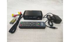 Тюнер T2 DiViSat Hobbit Mini + (YouTube, RuTube, IPTV)  черный