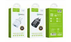 CЗУ Hoco C12Q Smart QC3.0 white