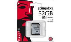 Карта памяти Kingston SDHC 32GB Class 10 UHS-I (45MB/s)