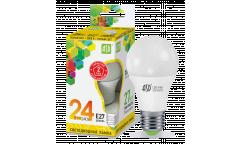 Лампа светодиодная ASD LED-A60-standard 24Вт 230В  Е27 3000К 2160Лм