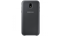 Оригинальный чехол (клип-кейс) для Samsung Galaxy J7 (2017) Dual Layer Cover черный (EF-PJ730CBEGRU)