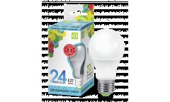 Лампа светодиодная ASD LED-A60-standard 24Вт 230В  Е27 4000К 2160Лм