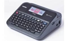 Принтер Brother P-touch PT-D600VP стационарный черный/серый