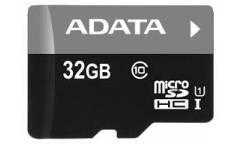 Карта памяти Adata MicroSDHC 32GB Class 10 Premier UHS-I (30MB/s) + adapter