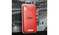 Силиконовый чехол HOCO PURE Series для iPhone X Red