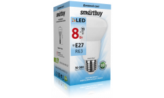 Светодиодная (LED) Лампа Smartbuy-R63-08W/4000/E27