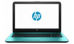"""Ноутбук HP 15-ba025ur 15.6"""" HD noGl/ AMD A8-7410 / 6Gb/ 500Gb/ AMD M430 2Gb/DVD-RW/ Win10 бирюзовый"""