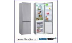 Холодильник Nordfrost NRB 110NF 332 серебристый (двухкамерный)