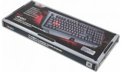 Клавиатура A4 Bloody B120 черный USB Multimedia Gamer LED