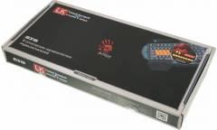 Клавиатура A4 Bloody B318 черный USB Multimedia Gamer LED (подставка для запястий)