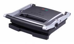 Гриль контактный Starwind SSG9414 2000Вт серебристый/черный 18x33x35см