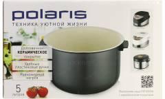 Чаша для мультиварки Polaris pip 0505K покрытие керамика 5л с крышкой