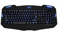 kbrd Oklick 730G черный USB Multimedia Gamer LED