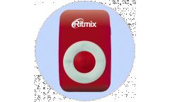 Портативный цифровой плеер Ritmix RF-1010 красный
