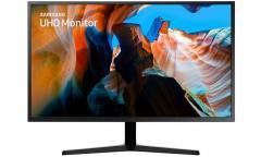 """Монитор Samsung 31.5"""" U32J590UQI темно-серый VA LED 16:9 HDMI DisplayPort Mat 3000 (плохая упаковка)"""