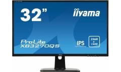 """Монитор Iiyama 32"""" ProLite XB3270QS-B1 черный IPS 4ms 16:9 DVI HDMI DisplayPort M/ (плохая упаковка)"""