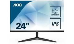 "Монитор AOC 23.6"" Value Line 24B1H(00/01) черный MVA LED 5ms 16:9 HDMI Mat 3000:1  (плохая упаковка)"