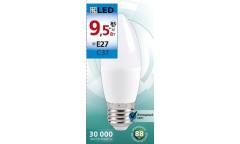 Светодиодная (LED) Лампа Smartbuy-C37-9,5W/3000/E27