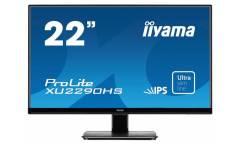 "Монитор Iiyama 21.5"" ProLite XU2290HS-B1 черный IPS LED 5ms 16:9 DVI HDMI M/M матовая 1000:1 250cd 178гр/178гр 1920x1080 D-Sub FHD 3.7кг"