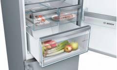 Холодильник Bosch KGN39XI3OR серебристый (двухкамерный)