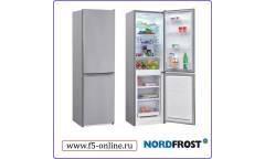 Холодильник Nordfrost NRB 119NF 332 серебристый (двухкамерный)