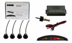 Парковочный Радар Silverstone F1 Interpower IP-416 4 датчика черный