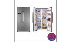 Холодильник Candy CXSN 171 IXH нержавеющая сталь (двухкамерный)