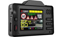Видеорегистратор с радар-детектором Inspector Piranha GPS ГЛОНАС черный