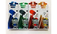 Наушники Rainbow Z4 внутриканальные c микрофоном красные