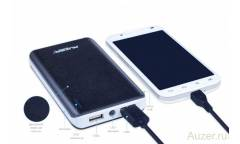 Внешний аккумулятор (Power Bank) Auzer AP10000 черный