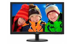 "Монитор Philips 21.5"" 223V5LSB (10/62) черный TN+film LED 5ms 16:9 матовая 250cd 1920x1080 D-Sub 2.61кг"