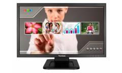 "Монитор ViewSonic 21.5"" TD2220-2 черный TN+film LED 5ms 16:9 DVI глянцевая 1000:1 200cd 170гр/160гр 1920x1080 D-Sub FHD USB Touch 4.92кг"