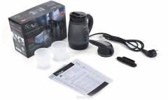 Отпариватель VLK Sorento 6400 с насадкой для чайника, черный 0,4л 1250Вт