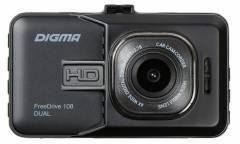Видеорегистратор Digma FreeDrive 108 DUAL черный 1.3Mpix 1080x1920 1080p 140гр. GP2248