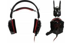 Наушники SmartBuy Rush Cobra накладные с микрофоном черные/красные
