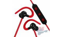 Наушники беспроводные (Bluetooth) Gorsun E56 (red) внутриканальные c микрофоном