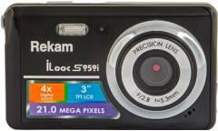Цифровой фотоаппарат Rekam iLook S959i черный