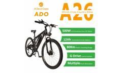 Электровелосипед Xiaomi Ado EBIKE A26 Black