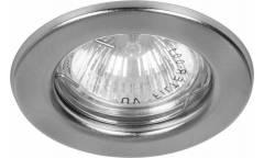 Светильник точечный_FERON_ DL10 (15111) MR16 серебро