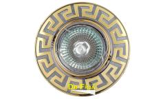 Светильник точечный_DE FRAN_ FT 116A CHG MR16 хром+золото