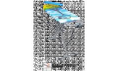 Гладильная доска НИКА 9 ,металл (1220х400мм) вес изделия-7,95кг подрукавник полка розетка с держателем
