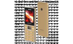 Мобильный телефон Maxvi M10 gold