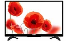 "Телевизор LED Telefunken 24"" TF-LED24S62T2 черный/HD READY/50Hz/DVB-T/DVB-T2/DVB-C/USB (RUS)"
