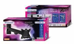 "Кронштейн для телевизора Kromax CASPER-103 черный 10""-26"" макс.15кг настенный поворот и наклон"